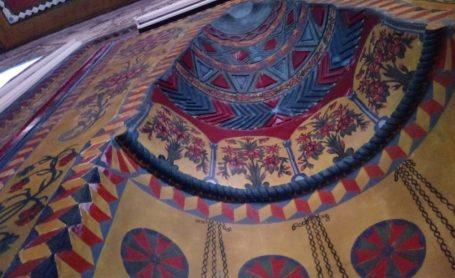 Şalpazarı Doğancı Cami'nin Nefis Kalem İşi ve Ahşap Süslemeleri |Foto Galeri