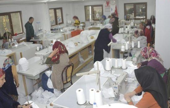 Şalpazarı'nda Tekstil